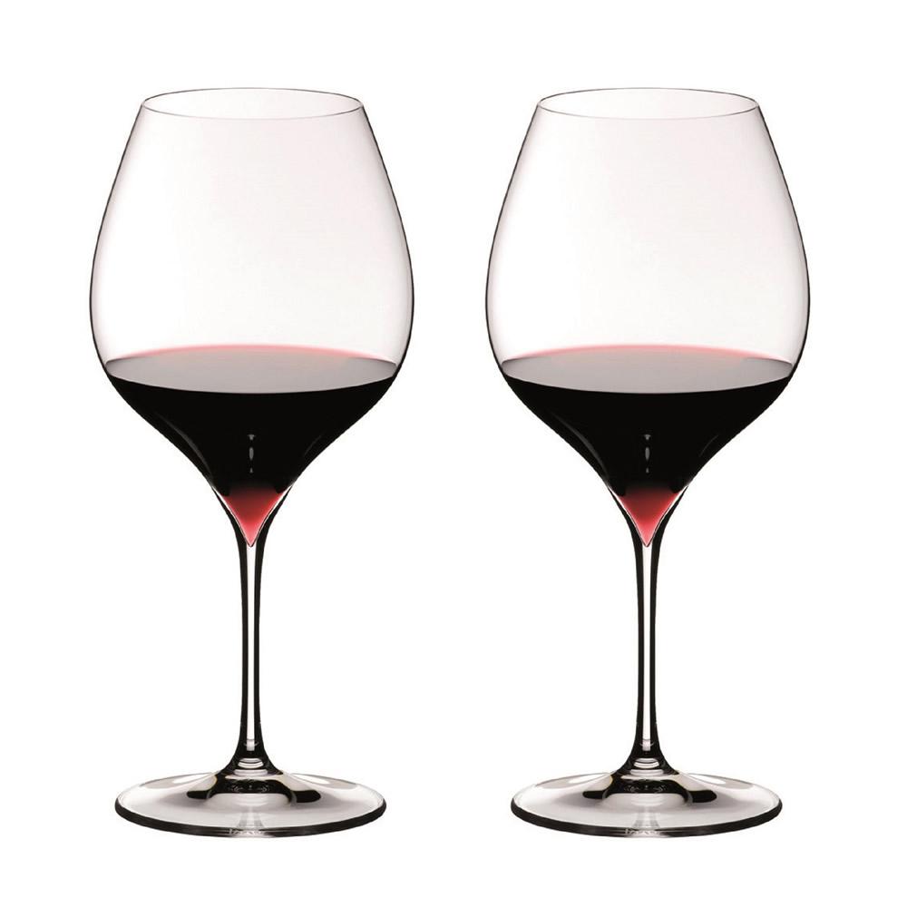 【送料無料】リーデル グレープ ピノ・ノワール/ネッビオーロ ワイングラス 700cc 6404/7 2脚セット 652 マシンメイドで美しい引き脚を実現したエレガントなデザイン。