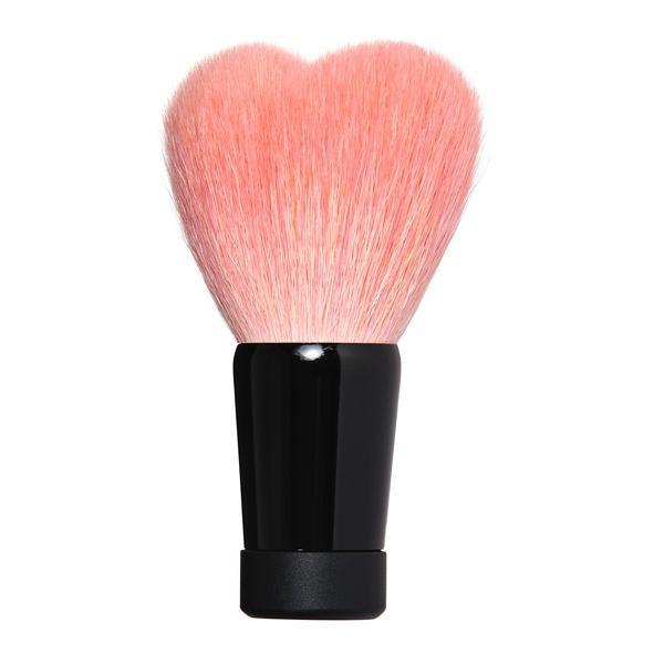 【クーポンあり】喜筆 KIHITSU 熊野筆 ハート洗顔ブラシ ピンク大 W1-HPN4K 泡立ちの良い洗顔ブラシ