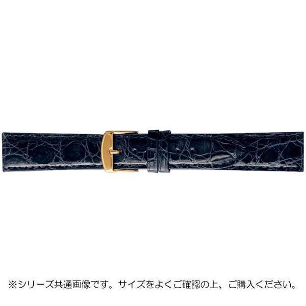 【クーポンあり】【送料無料】BAMBI バンビ 時計バンド エルセ ワニ革 ネイビー(美錠:金) SWA007DL
