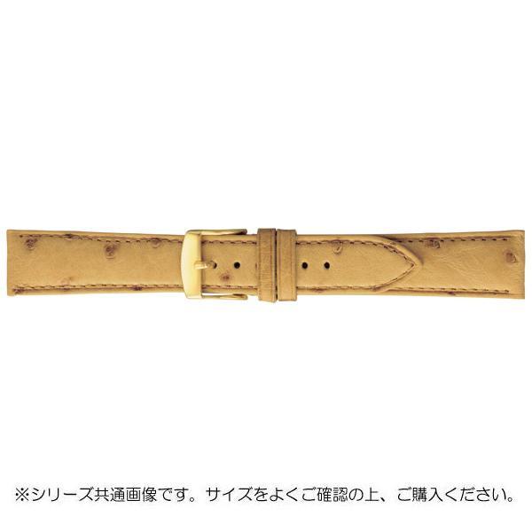 【クーポンあり】【送料無料】BAMBI バンビ 時計バンド エルセ オーストリッチ革 タン(美錠:金) SDA006TP