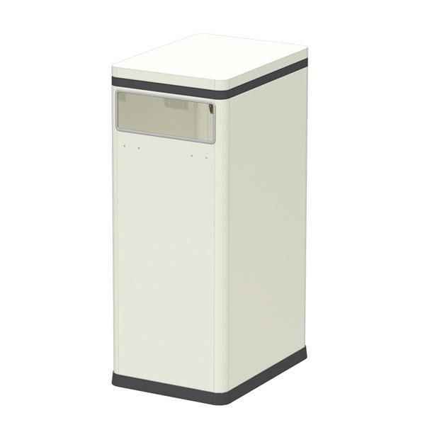 【送料無料】ぶんぶく テーブルトラッシュ 袋止め付 アイボリー TTB-01B-IV 天板をテーブル代わりにできるゴミ箱です。