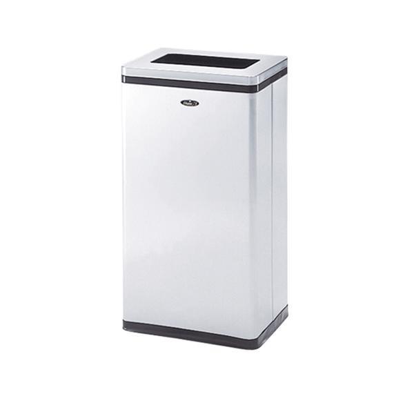【クーポンあり】【送料無料】ぶんぶく リサイクルトラッシュ Bライン 一般用小型タイプ 一般ゴミ用 ステンレスヘアライン仕上 OSL-Z-24 複数人での共有向き、一般ゴミ回収用ゴミ箱。