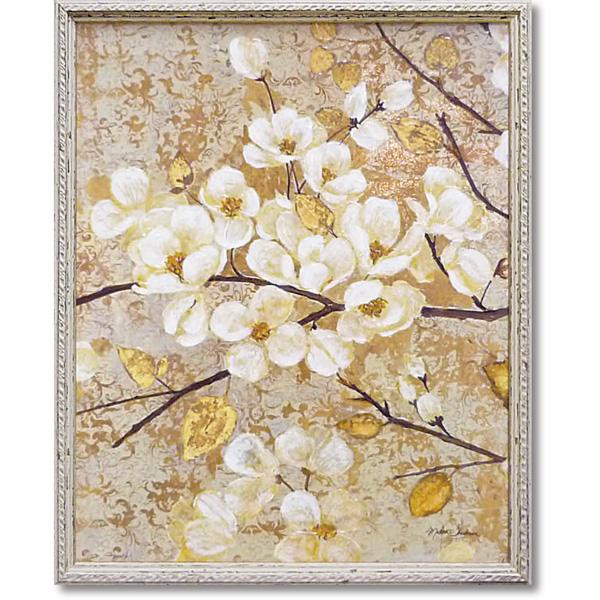 【クーポンあり】【送料無料】ユーパワー マティーナ セオドシウ アートフレーム 「黄金色の輝き1」 MT-09003 アートパネル 絵画 おしゃれ 壁掛け インテリア ウィールアート 額絵 額入り