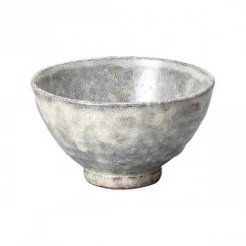 丸義ヒスイ粉引抹茶々碗 G-1417 贈り物や普段使いにもおすすめです。