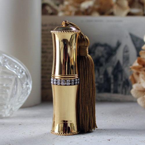 【クーポンあり】【送料無料】ヒロセアトマイザー ブラス アトマイザー 80300 GD (ゴールド) ラインストーン・タッセル付 真鍮製のアトマイザーです!