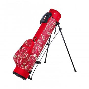 【送料無料】AZROF アズロフ ビッグセルフスタンドバッグ(クラブケース) デニムレッド 158 AZ-BSSC01