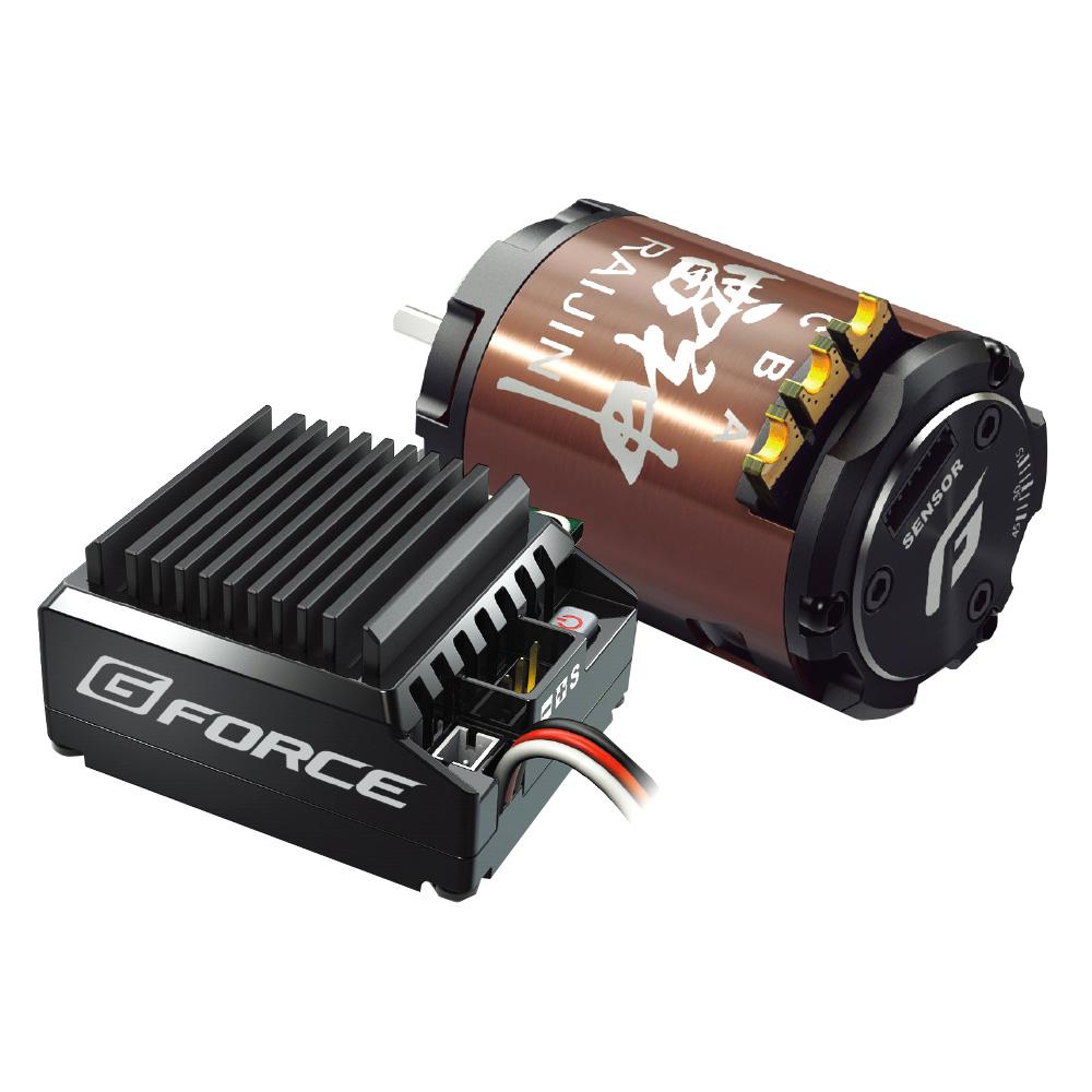 【クーポンあり】【送料無料】G-FORCE ジーフォース TS90A Drift Combo 10.5T G0205 ESCとドリフト専用モーターをセット!!