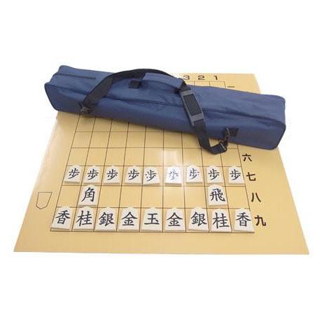 【クーポンあり】【送料無料】将棋塾 SX-MF81 丸めてスッポリ。持ち運び便利な教授盤。
