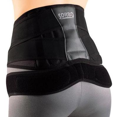 【送料無料】ソルボDo(ソルボドゥ) 中殿筋+腰ガード ブラック 動きやすさと安定感を両立させた腰ガード!