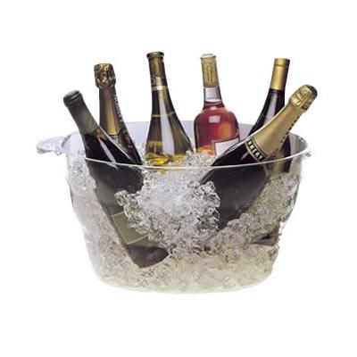 あす楽 イベント パーティ用 ワインクーラー 40%OFFの激安セール 2924 セール特別価格 クーポンあり ファンヴィーノ アクリルウェイブパーティクーラー