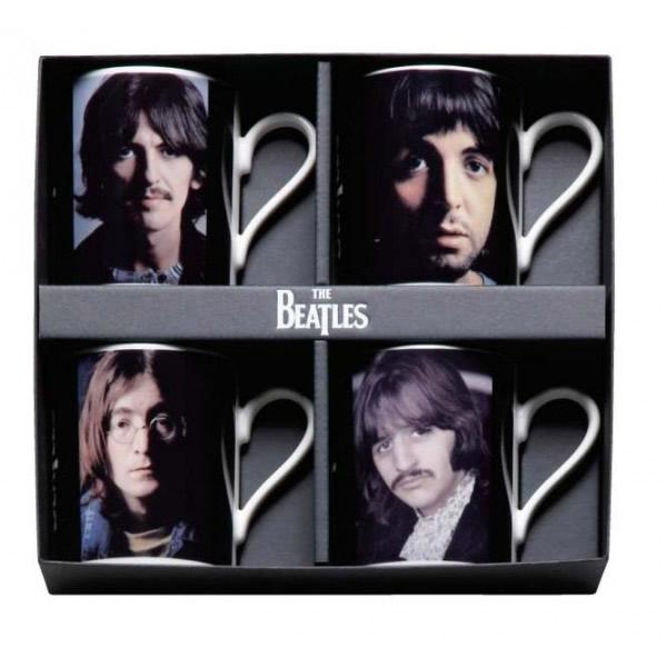 THE BEATLES(ザ・ビートルズ) メンバーマグ4点セット BT10-34 ビートルズのマグカップ♪