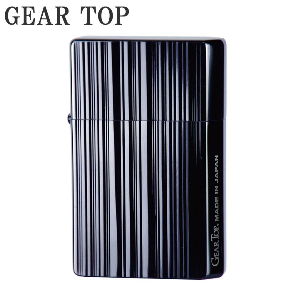 【クーポンあり】【送料無料】GEAR TOP オイルライター GT3-006 ストライプBN/GEAR(道具)TOP(頂点)を目指す日本製ブランドのオイルライター。