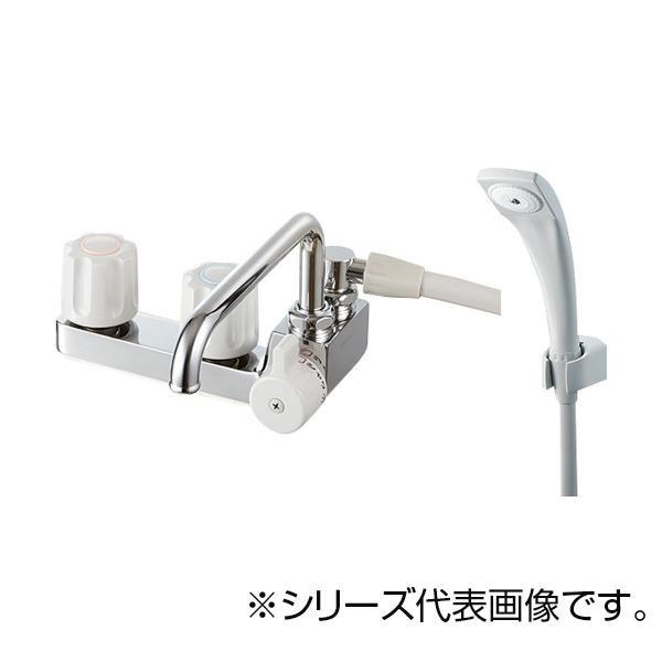 【送料無料】SANEI ツーバルブデッキシャワー混合栓 SK71041R-LH-13