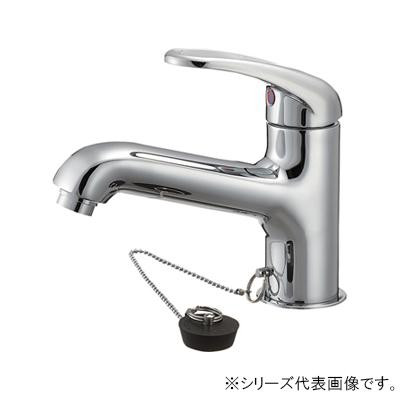 送料無料★吐水、止水が簡単に行えます。 【クーポンあり】【送料無料】三栄 SANEI U-MIX シングルワンホール洗面混合栓 寒冷地用 K4710JK-13 吐水、止水が簡単に行えます。