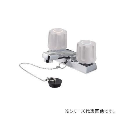 【クーポンあり】【送料無料】三栄 SANEI U-MIX ツーバルブ洗面混合栓 寒冷地用 K51K-LH-13