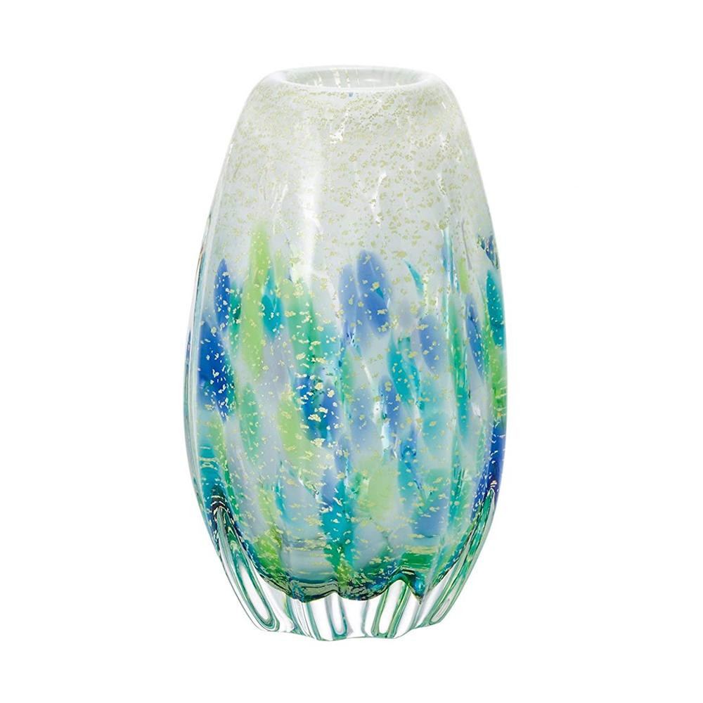 【クーポンあり】【送料無料】紫陽花長丸花器 F71742 おしゃれな花瓶です。