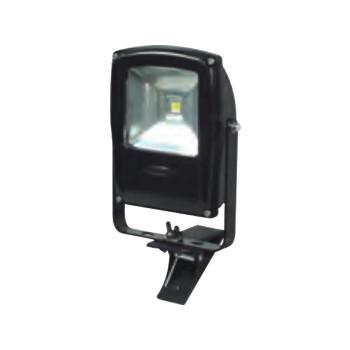 【送料無料】LEN-F10C-BK LEDフラットライト 10W クリップ式 マグネット付き 黒 13003