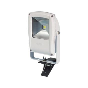 【送料無料】LEN-F10C-W LEDフラットライト 10W クリップ式 マグネット付き 白 13023
