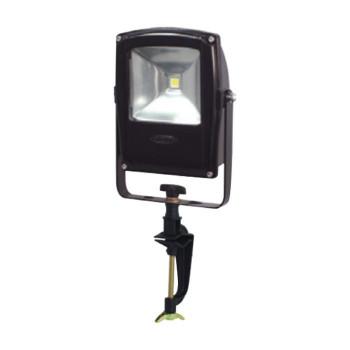 【送料無料】LEN-F10V-BK LEDフラットライト 10W バイス式 黒 13001