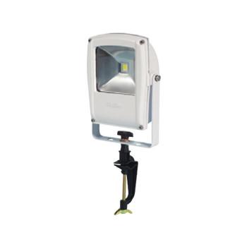 【送料無料】LEN-F10V-W LEDフラットライト 10W バイス式 白 13021