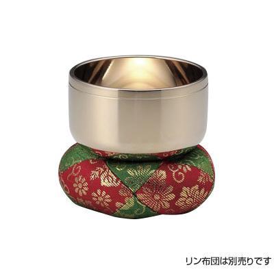 【クーポンあり】【送料無料】高岡銅器 砂張製仏具 砂張リン 4.0寸 81-08