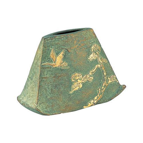 【送料無料】高岡銅器 銅製花瓶 中村喜久雄作 あけぼの 98-03 花のある暮らしを演出する花瓶です。