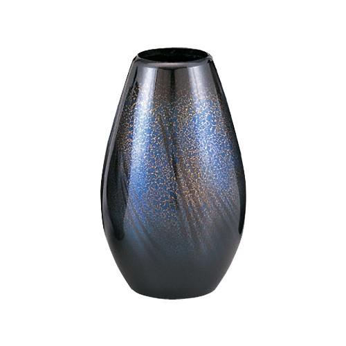 【送料無料】高岡銅器 銅製花瓶 砲型 天目色 7号 102-03 花のある暮らしを演出する花瓶です。