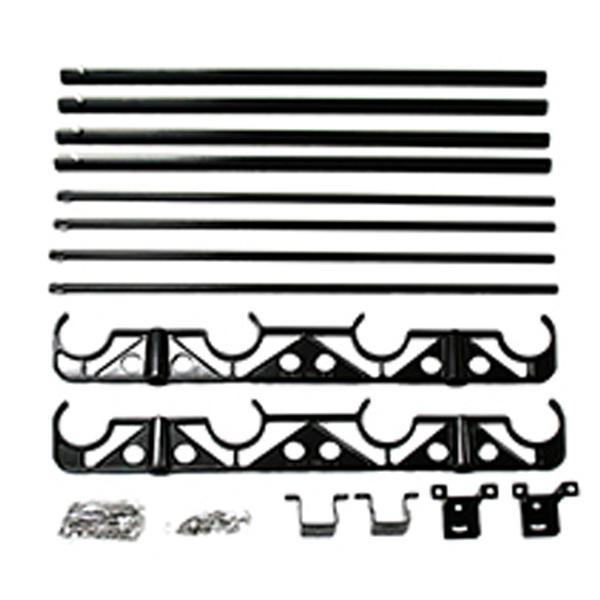 【クーポンあり】【送料無料】天井付型物干金具 DRY WAVE HA50-THC ブラック 00096459-001