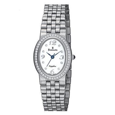 【ポイント10倍】【クーポンあり】【送料無料】Romanette(ロマネッティ) ステンレス レディース腕時計 RE-3523L-3 ロマネッティの腕時計。