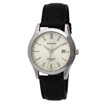 【送料無料】AUREOLE(オレオール) ドレス メンズ腕時計 SW-409M-7