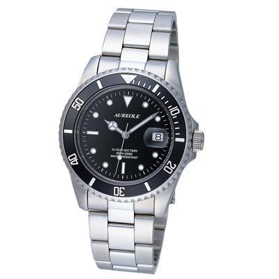 【送料無料】AUREOLE(オレオール) スポーツ メンズ腕時計 SW-416M-1