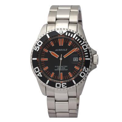 【送料無料】AUREOLE(オレオール) スポーツ メンズ腕時計 SW-416M-A1