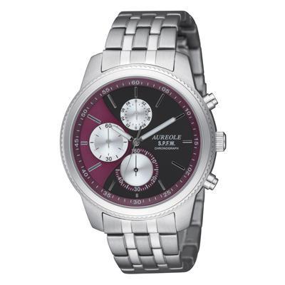 【クーポンあり】【送料無料】AUREOLE(オレオール) S.P.F.W メンズ腕時計 SW-575M-7