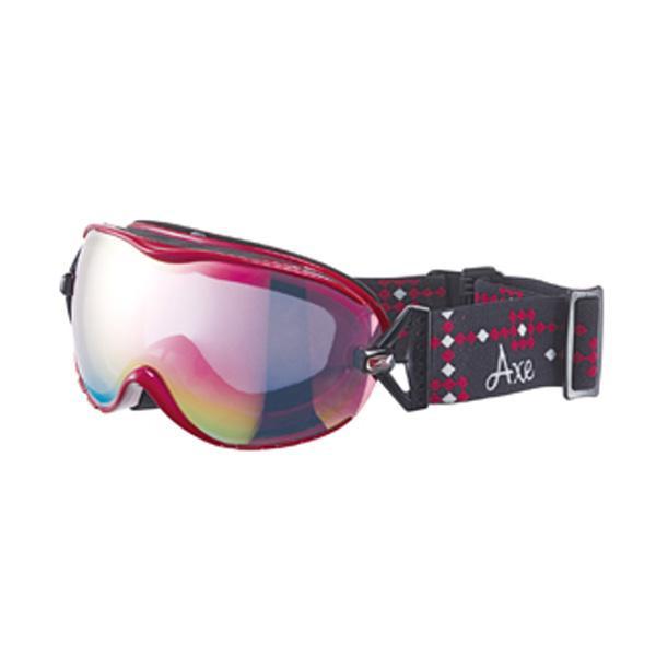 【クーポンあり】【送料無料】AXE(アックス) レディース スキーゴーグル AX650-WCM RO スキーやスノボーする時におすすめ!