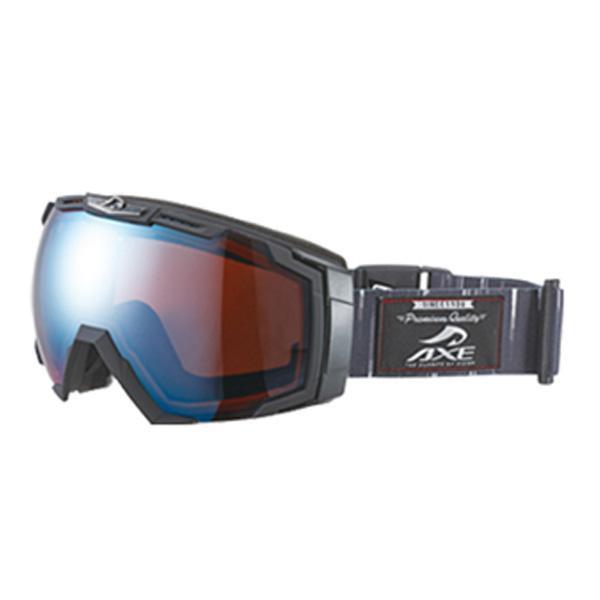 【クーポンあり】【送料無料】AXE(アックス) メンズ スキーゴーグル AX770-WCM BKB スキーやスノボーする時におすすめ!