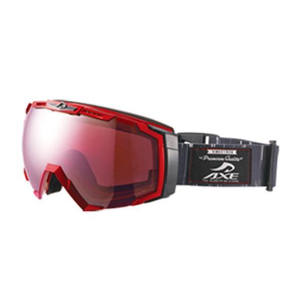 【クーポンあり】【送料無料】AXE(アックス) メンズ スキーゴーグル AX770-WCM RE スキーやスノボーする時におすすめ!