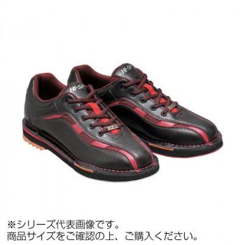 【送料無料】ボウリングシューズ 両足張替えシューズ ブラック/レッド 23.5cm HS-925