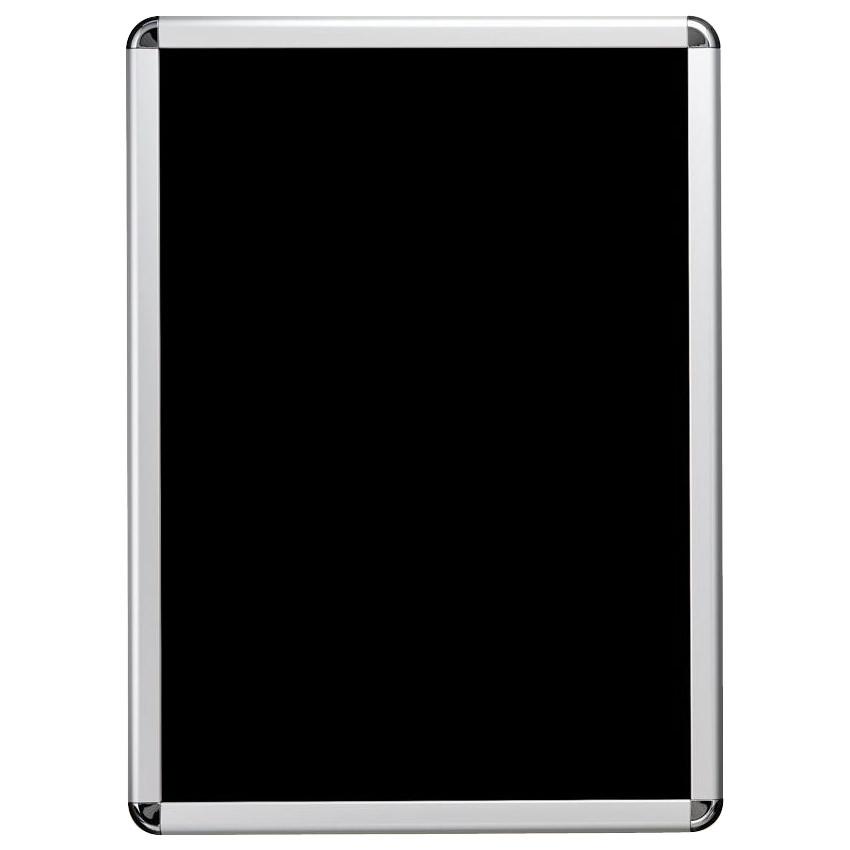 【クーポンあり】【送料無料】PosterGrip(R) ポスターグリップ角R型 B1 シルバーフレーム(梨地調) 屋内用 PG-32R C・SM 手でフレームが4辺開閉できる、屋内専用ポスターグリップ。