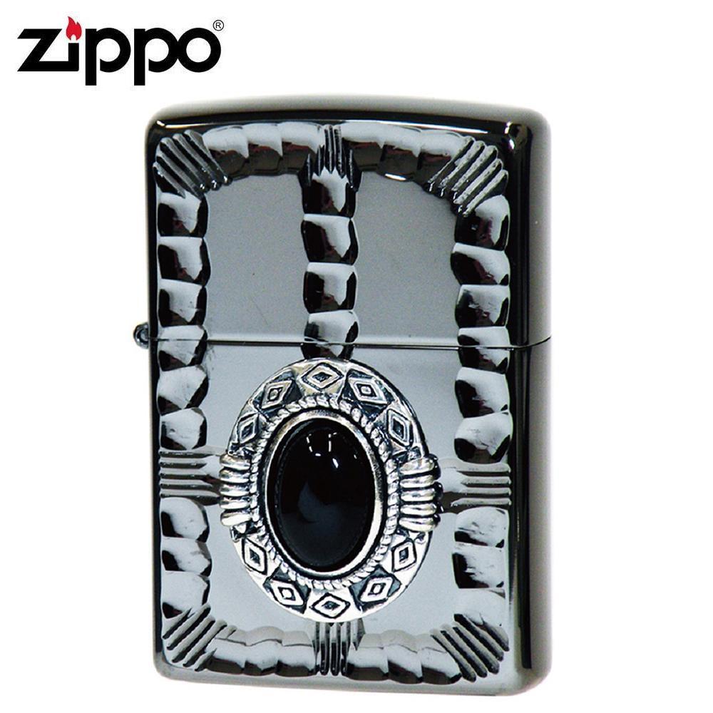 【クーポンあり】【送料無料】ZIPPO(ジッポー) オイルライター NM3-BKON ブラックでまとめ上げたZIPPO(ジッポー)。