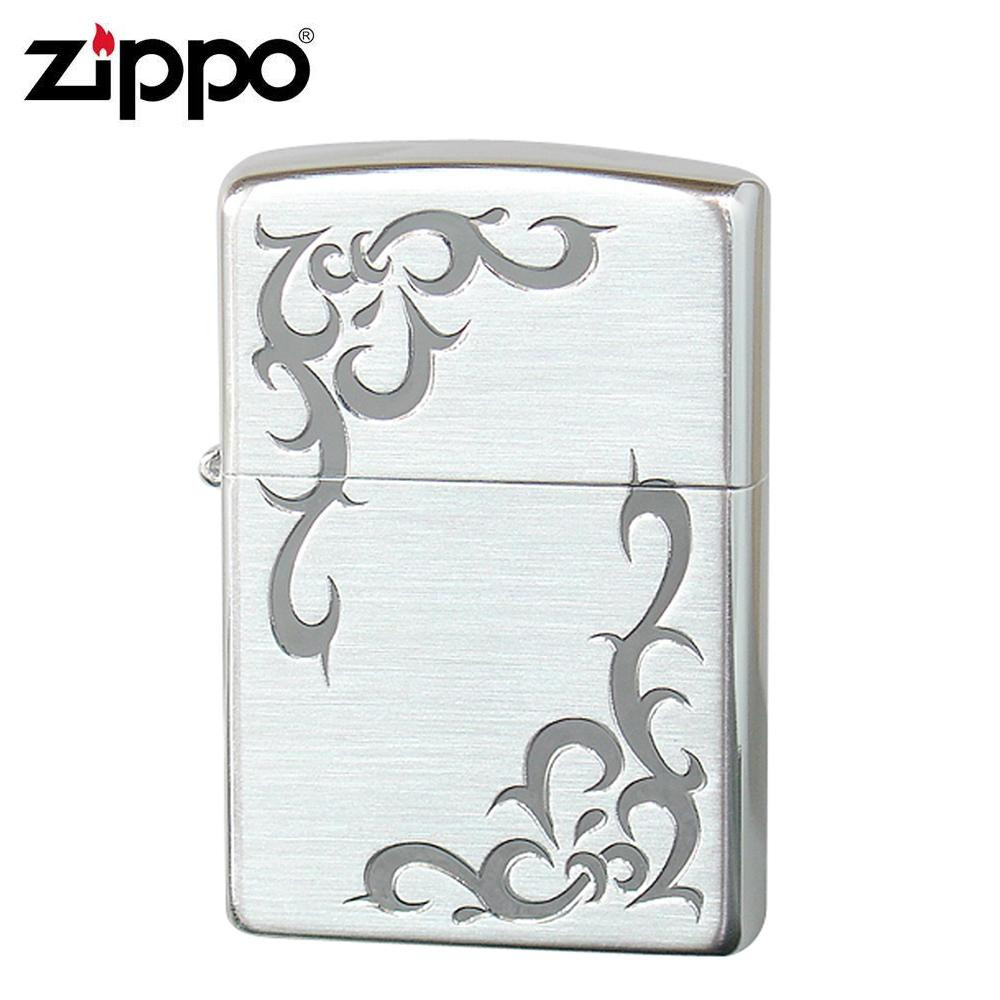 【送料無料】ZIPPO(ジッポー) オイルライター WH-SS2 トライバル風にデザインされたハートのZIPPO(ジッポー)。