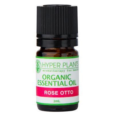 【クーポンあり】【送料無料】HYPER PLANTS ハイパープランツ オーガニックエッセンシャルオイル ローズオットー 2ml HE0004 毎日の生活にアロマの香りを♪