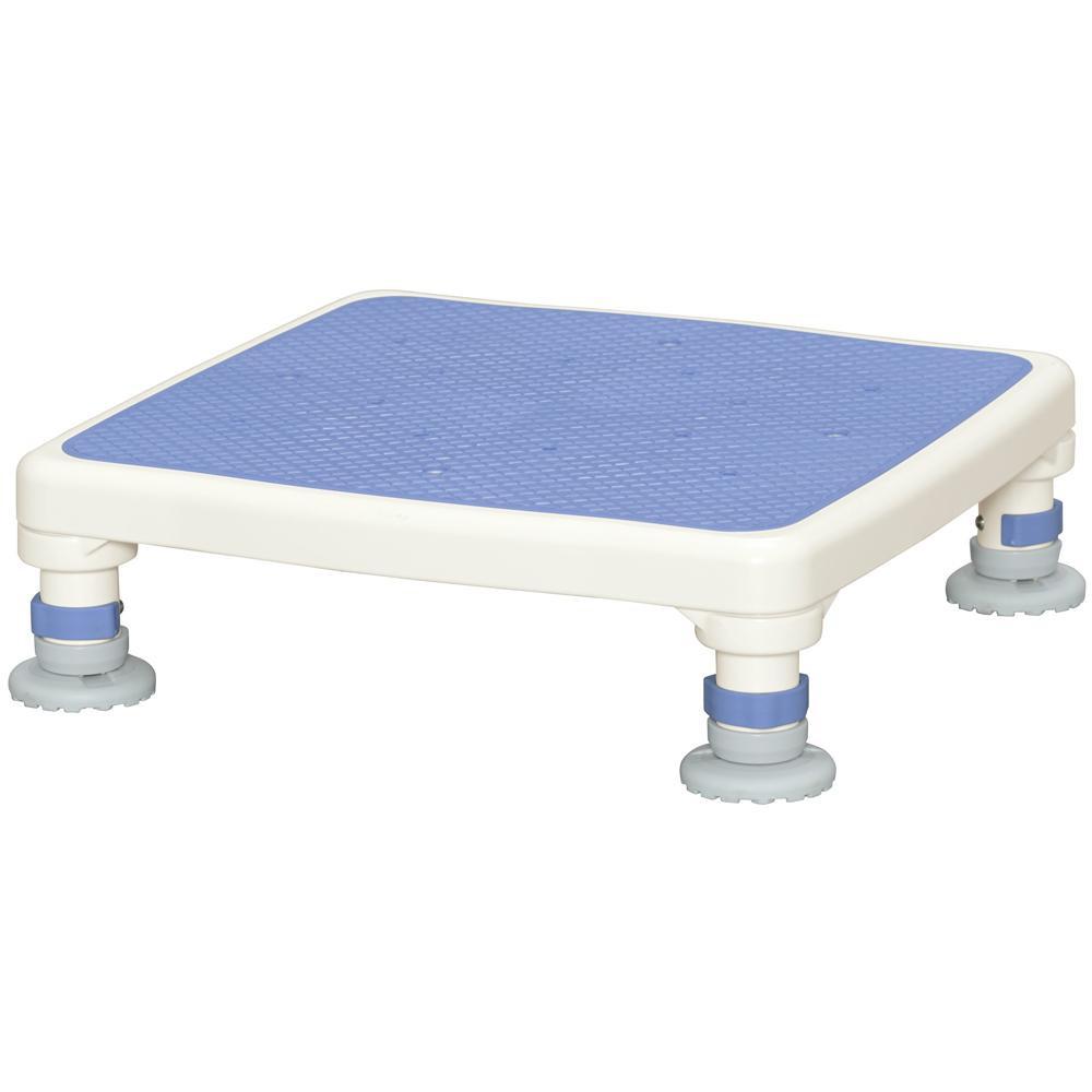 【送料無料】アルミ製浴槽台 あしぴたシリーズ ジャスト ブルー 10-15 高さ調節幅が広い浴槽台です。