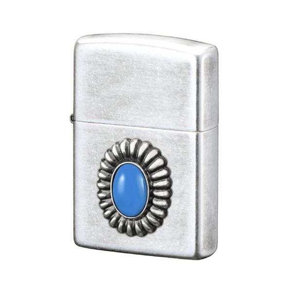 【クーポンあり】【送料無料】ZIPPO パワーストーン ブルーアゲート 70641 贈り物におすすめ!ZIPPOライター