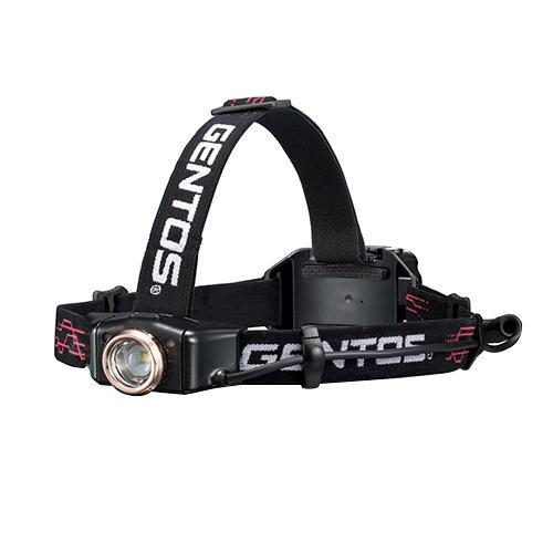 【クーポンあり】【送料無料】GENTOS Gシリーズ LEDヘッドライト GH-010RG