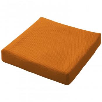 【クーポンあり】【送料無料】ピタ・シートクッション70 通気カバータイプ 立体格子状ジェル 柔らかさ重視 車いす 運転座席 オレンジ PT003C