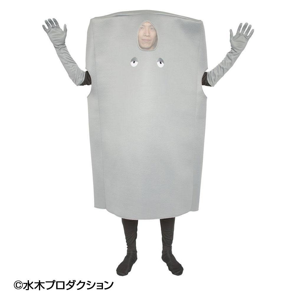 【クーポンあり】【送料無料】クリアストーン コスチューム ゲゲゲの鬼太郎公式 ぬりかべ着ぐるみ 原作を忠実に再現した公式コスチューム!みんなで着て楽しもう♪