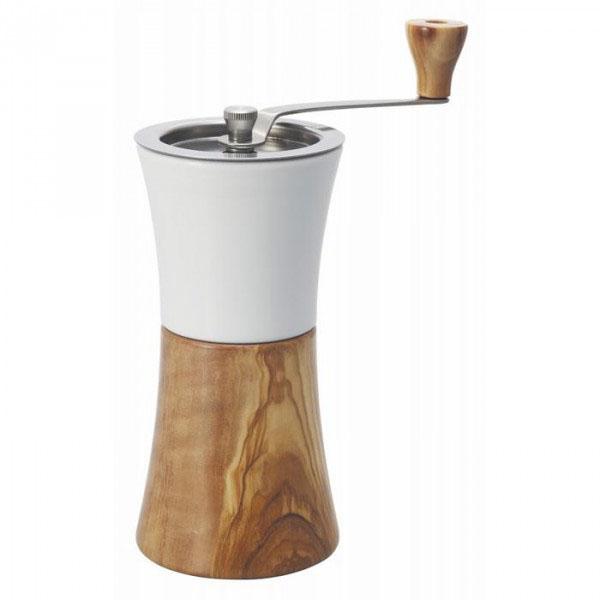 【クーポンあり】【送料無料】HARIO(ハリオ) セラミックコーヒーミル・ウッド MCW-2-OV ナチュラルテイストのコーヒーミル。