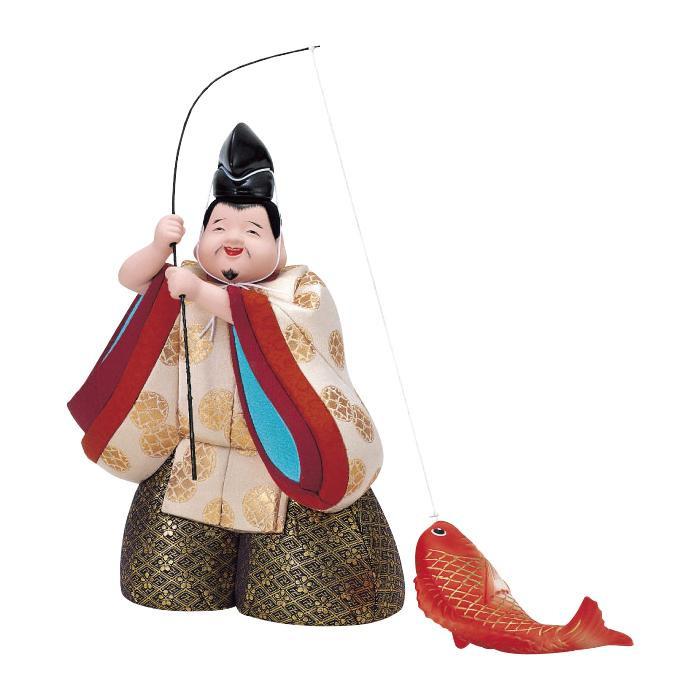 送料無料★えびす様の木目込み人形! 【クーポンあり】【送料無料】01-023 えびす(特製) セット えびす様の木目込み人形!