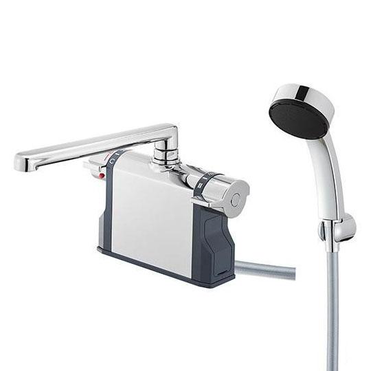 送料無料★節水性能を有したサーモデッキシャワー。 【クーポンあり】【送料無料】三栄水栓 SANEI U-MIX Bathroom サーモデッキシャワー混合栓 SK7810-S9L30 節水性能を有したサーモデッキシャワー。