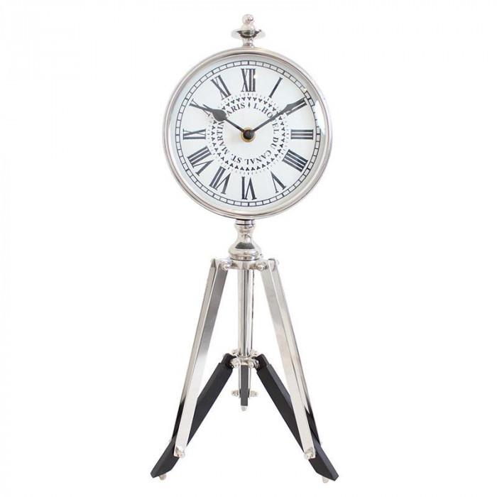 【クーポンあり】【送料無料】脚立付き 置時計 KG-39802